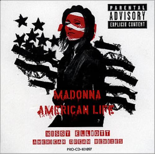 Madonna American Life American Dream Remixes Us Promo Cd