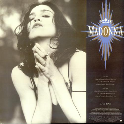 Madonna like a prayer midi