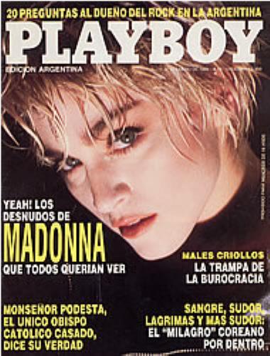 madonna nude playboy photos