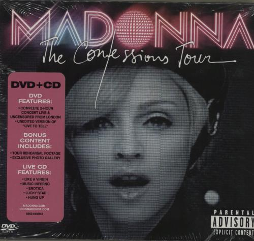 Madonna The Confessions Tour Japanese 2-disc CD/DVD set (387917)