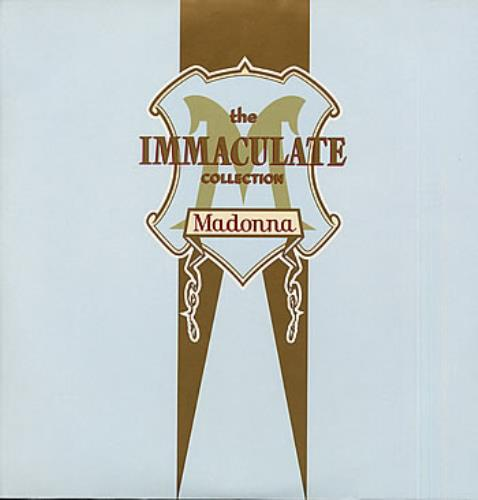 Madonna The Immaculate Collection Scented Inner Sleeves
