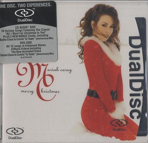 Mariah Carey Merry Christmas US Dual Disc (378232)