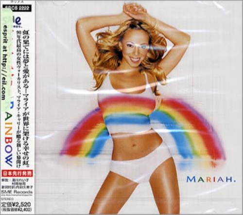 Mariah Carey Rainbow Japanese CD album (CDLP) (144430)