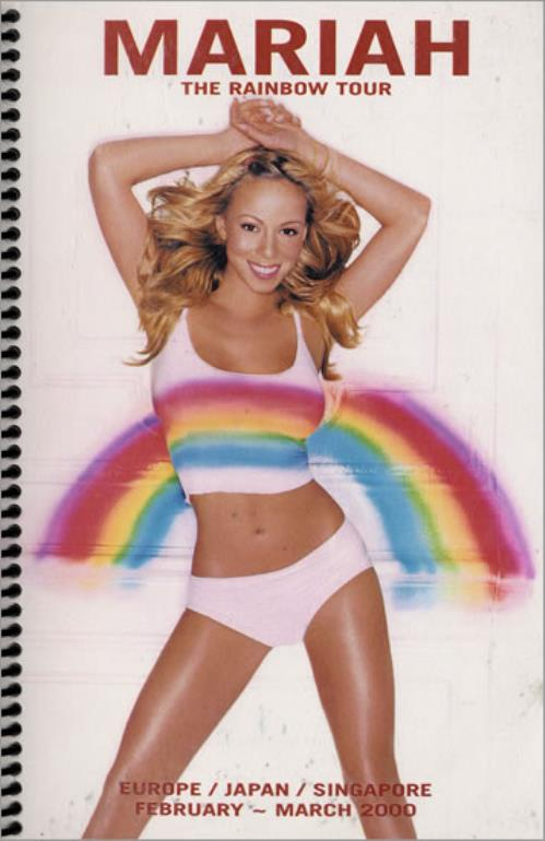 Mariah Carey The Rainbow Tour Itinery US Itinerary (214238 ...