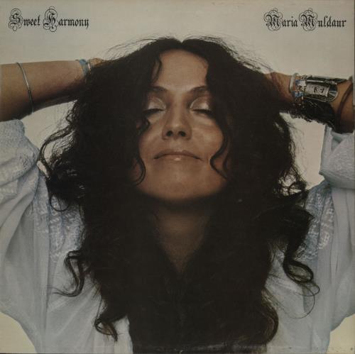 Maria Muldaur Sweet Harmony Uk Vinyl Lp Album Lp Record