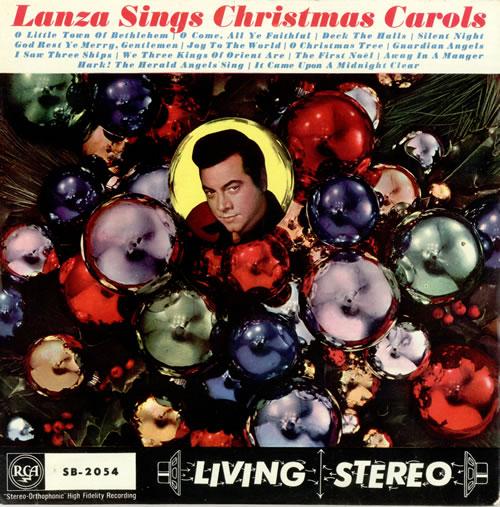 Mario Lanza Lanza Sings Christmas Carols UK vinyl LP album (LP ...