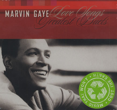 Marvin Gaye Love Songs Greatest Duets Australian Cd Album