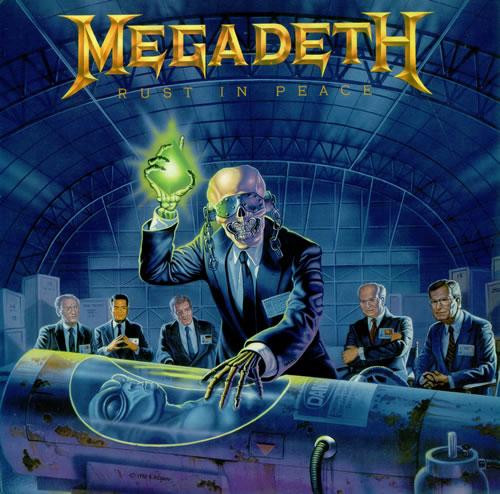 Αποτέλεσμα εικόνας για RUST IN PEACE - Megadeth vinyl cover