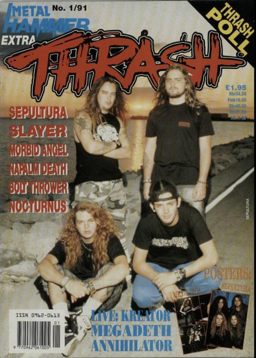 Metal Hammer Magazine Thrash 4 Issues Uk Magazine
