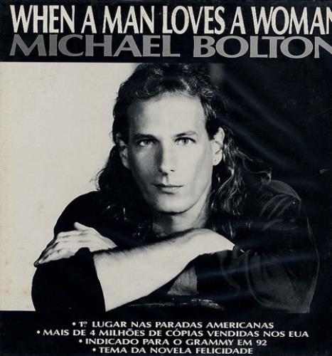Michael Bolton When A Man Loves A Woman Brazilian Promo 12