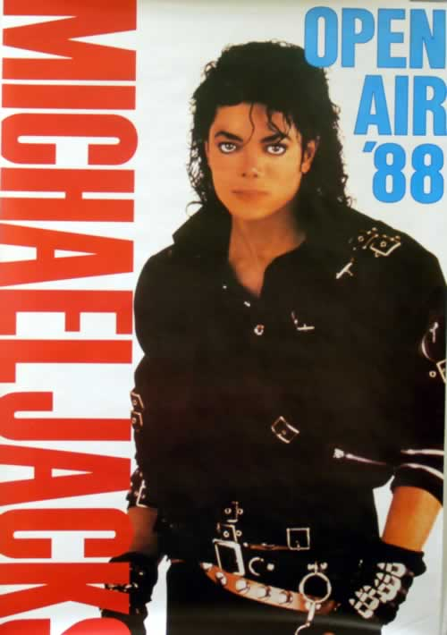 Michael Jackson Bad World Tour - Open Air Wurzburg ...