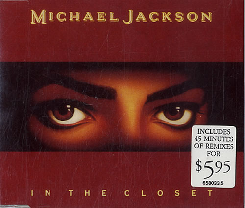 Michael Jackson In The Closet Australian Cd Single Cd5