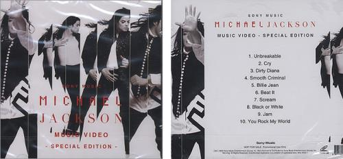 Michael Jackson Invincible Korean 2 Disc Cd Dvd Set 394029