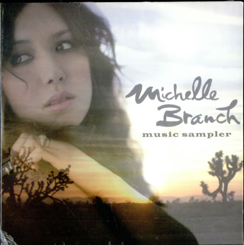 Michelle Branch Music Sampler Us Promo Cd Album Cdlp