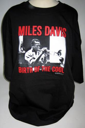 Miles davis birth of the cool t shirt large uk t shirt for Miles t shirt shop