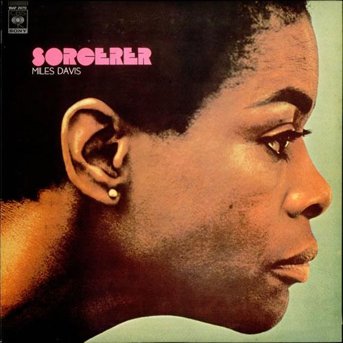 Miles Davis Sorcerer Japanese Promo Vinyl Lp Album Lp