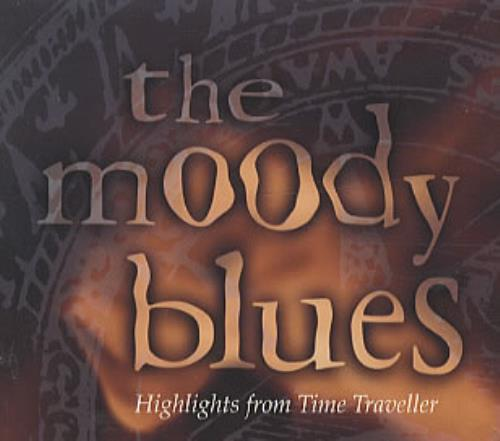 Moody Blues Highlights From Time Traveller Us Promo Cd