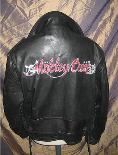Motley Crue Dr Feelgood World Tour 1989 1991 Us Jacket