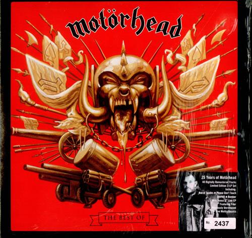 Motorhead The Best Of Motorhead Uk 3 Lp Vinyl Record Set