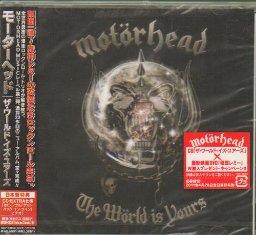 Motorhead The World Is Yours - Sealed Japanese Promo CD album ...