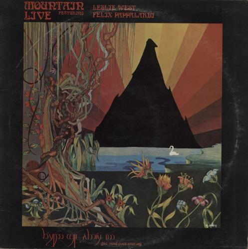 Mountain Live The Road Goes Ever On Palm Tree Label Uk