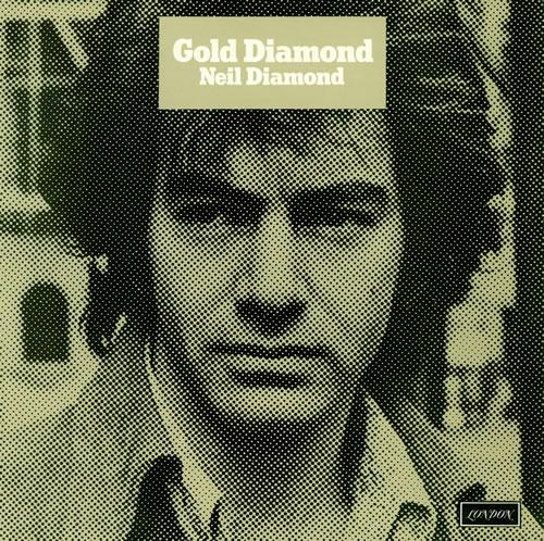 Neil Diamond Gold Diamond Laminated P S Uk Vinyl Lp