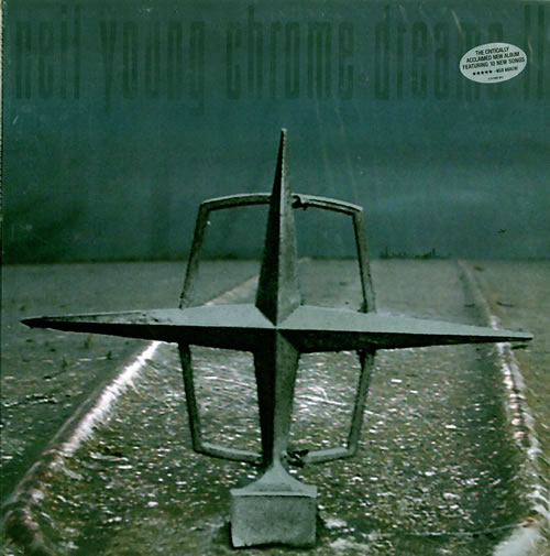Neil Young Chrome Dreams Ii Sealed Us 2 Lp Vinyl Record