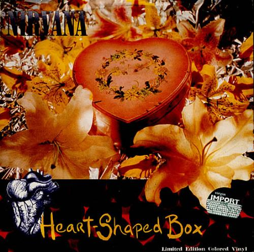 Nirvana Us Heart Shaped Box Red Vinyl German 7 Quot Vinyl