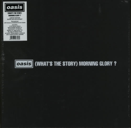 Oasis What S The Story Morning Glory Sealed Uk Vinyl