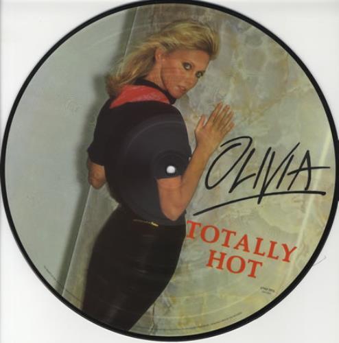 Olivia Newton John Totally Hot Uk Picture Disc Lp Vinyl