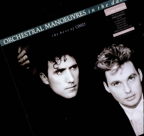 Omd The Best Of Omd Gold Promo Stamped Us Vinyl Lp Album