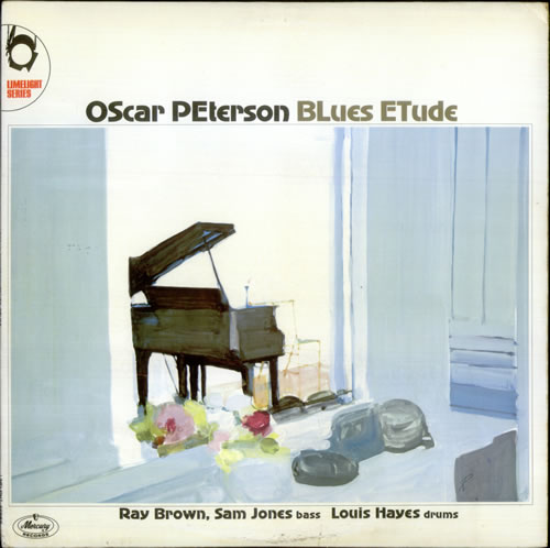 Oscar Peterson Blues Etude Uk Vinyl Lp Album Lp Record