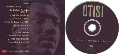 Otis Redding Otis The Definitive Otis Redding Sampler