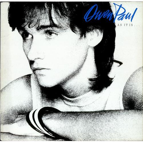 Owen Paul As It Is Test Pressing Uk Vinyl Lp Album Lp Record 197619