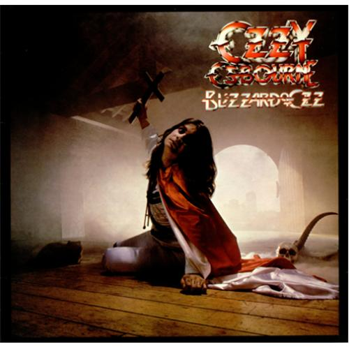 Ozzy Osbourne Blizzard Of Ozz Uk Vinyl Lp Album Lp Record