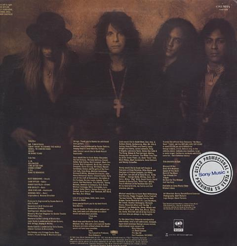 Ozzy Osbourne No More Tears Colombian Promo Vinyl Lp Album