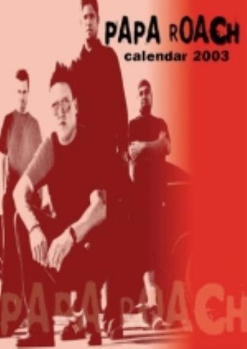 Papa Roach Calendar 2003 UK calendar (225260) MUS100