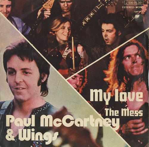 paul mccartney and wings my love spanish 7quot vinyl single