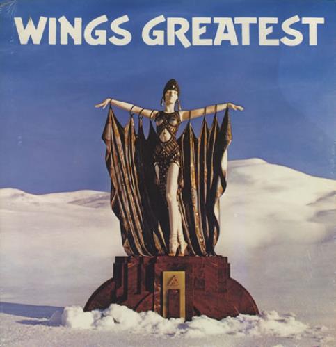 Paul Mccartney And Wings Wings Greatest Poster Us Vinyl