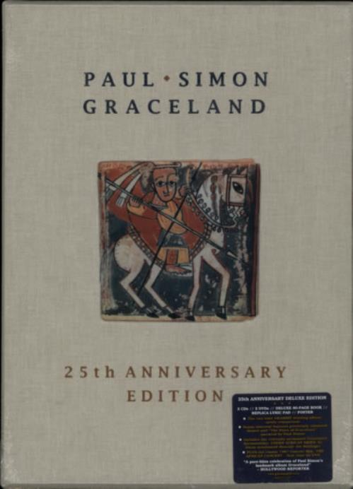 paul simon graceland 25th anniversary box set