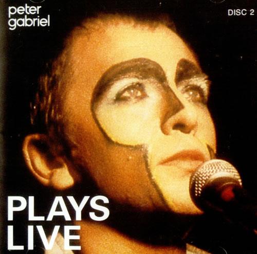 Peter Gabriel Plays Live Us 2 Cd Album Set Double Cd