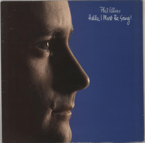 Phil Collins Hello I Must Be Going Uk Vinyl Lp Album Lp