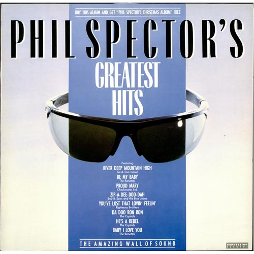 Phil Spector Greatest Hits & Christmas Album UK 2-LP vinyl record ...