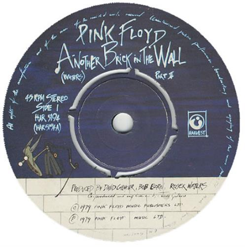 Pink Floyd Another Brick In The Wall Part Ii Uk 7 Quot Vinyl