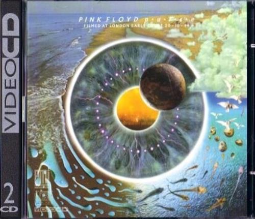 Pink Floyd Pulse Uk Video Cd 143019
