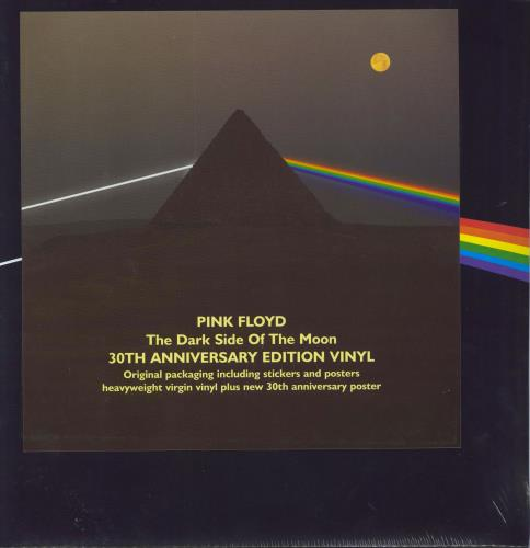 Pink Floyd The Dark Side Of The Moon 30th Sealed Uk