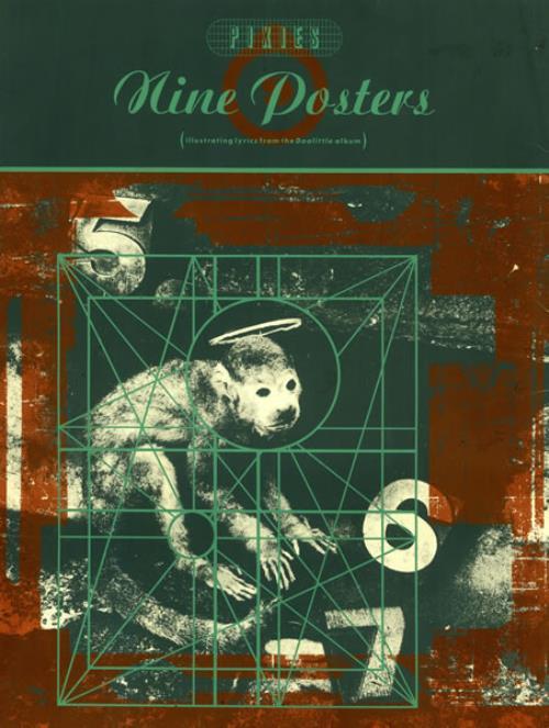 Pixies Nine Posters Uk Poster 470015