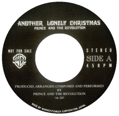 Prince Another Lonely Christmas - Radio Only Japanese Promo 7 ...