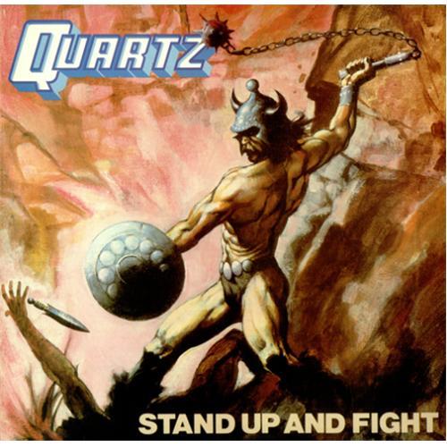 Quartz Stand Up And Fight Insert Uk Vinyl Lp Album Lp