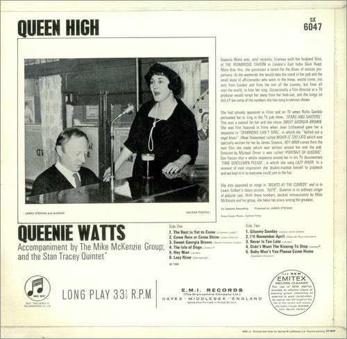 Queenie Watts Queen High